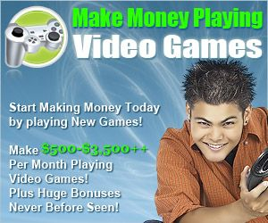 make money playing video games from home