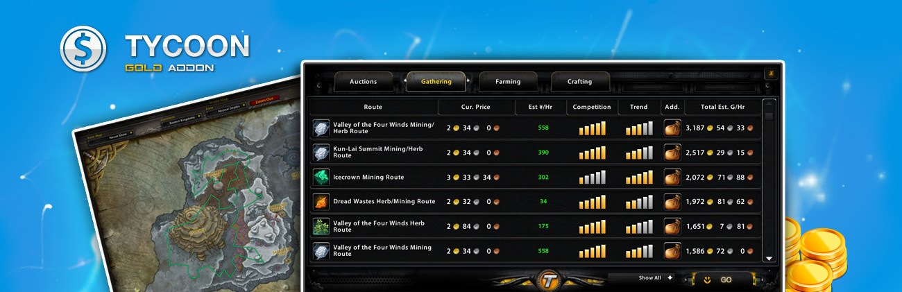 dynasty wow tycoon addon review - wow gold guide