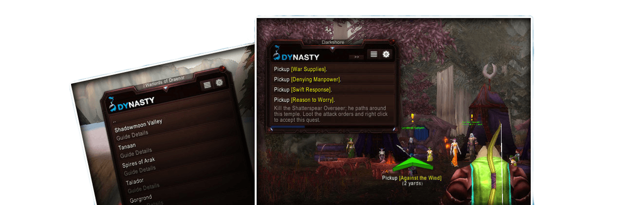 dynastys wow booster leveling addon review